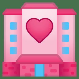 Love hotel icon