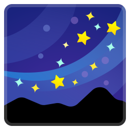 Milky way icon