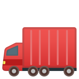 Articulated lorry icon