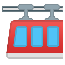 Suspension railway icon
