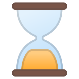 Hourglass done icon