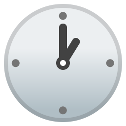 One o clock icon