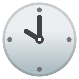 Ten o clock icon