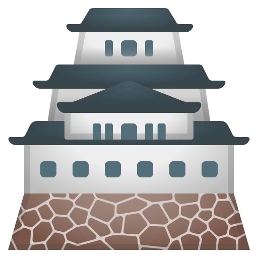 Japanese castle icon