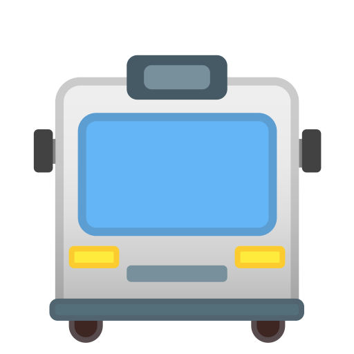 Oncoming bus icon