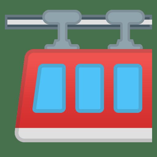 Suspension railway icon