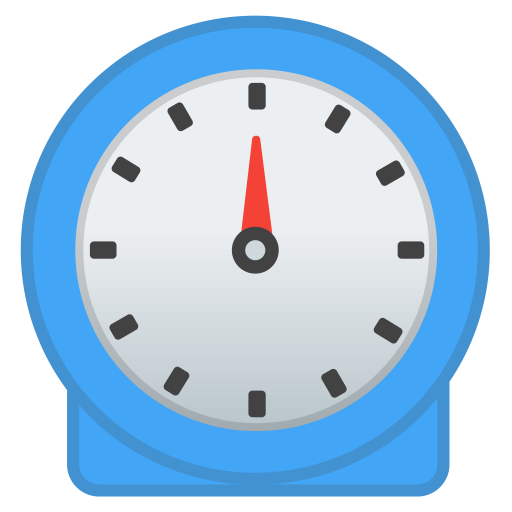 Timer clock icon