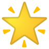 42656-glowing-star icon