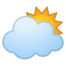 42666-sun-behind-large-cloud icon