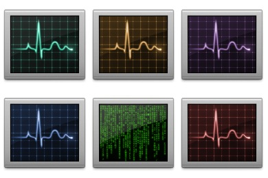Activity Monitor Icons