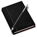 pages black icon
