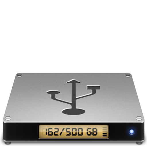 Device-usbhd icon