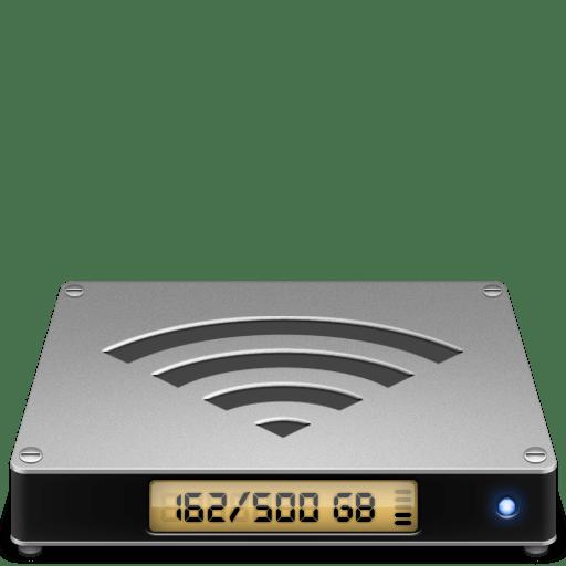 Folder-airdisk icon