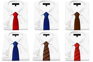 Shirt N Tie Icons