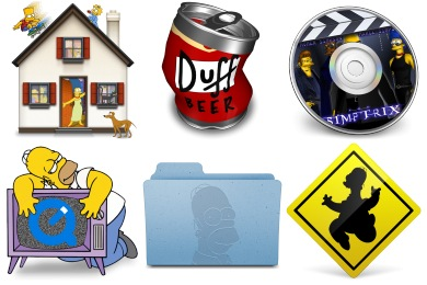 Simpsons 2 Icons
