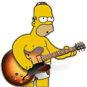 Garage band homer icon