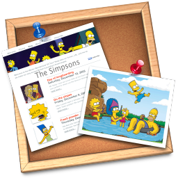 iWeb simpsons icon