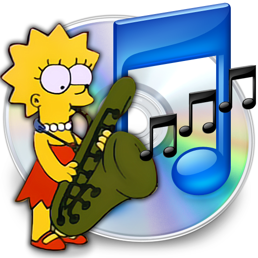 Itunes Lisa Icon Simpsons Iconset Gordon Irving