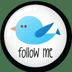 Follow Me On Twitter Png | www.pixshark.com - Images ...