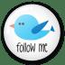 Twitter-button-follow-me icon