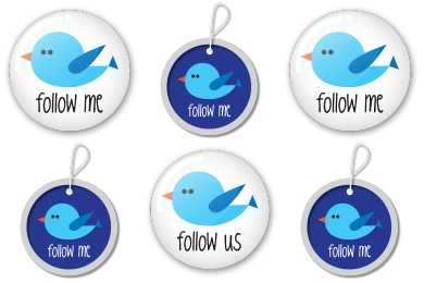 Twitter Buttons Icons