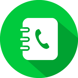 Addressbook green icon