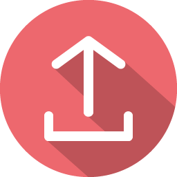 Arrow upload icon