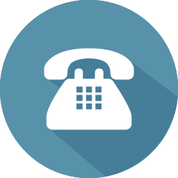 Image result for Telephone icon png blue 100*100