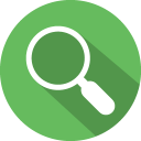 Zoom search 2 icon