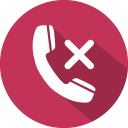 phone call reject icon
