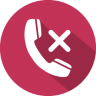 Phone-call-reject icon