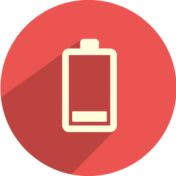 Battery bar 1 icon