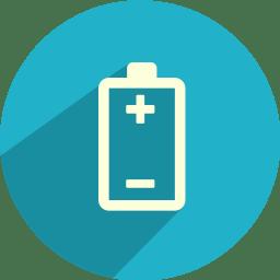 battery polarity icon