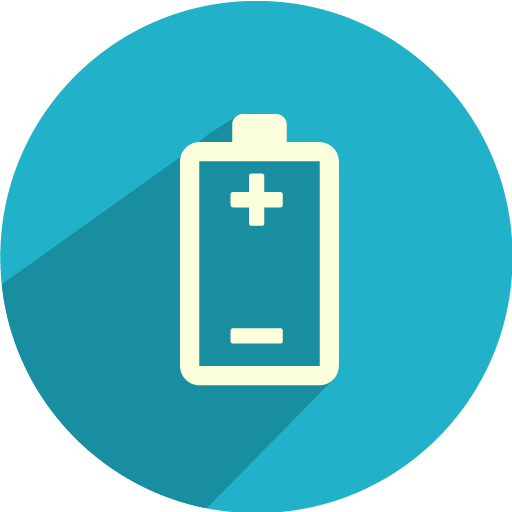 Battery-polarity icon