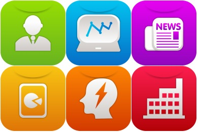 iOS7 Business Icons