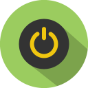 Button-power icon