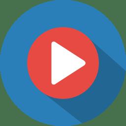 Button 1 play icon