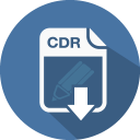 Coreldraw cdr icon