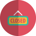 closed folded icon
