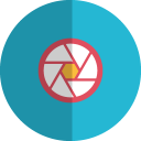 Focus folded icon