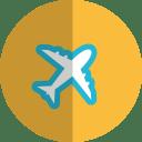 plane folded icon
