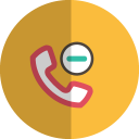 substract phone folded icon