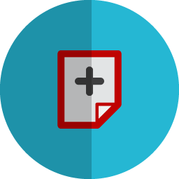 ad page folded icon