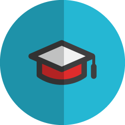 Degree folded icon