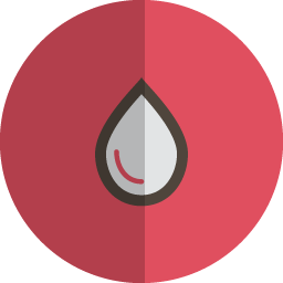 Drop folded icon