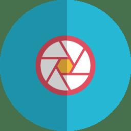 focus folded icon