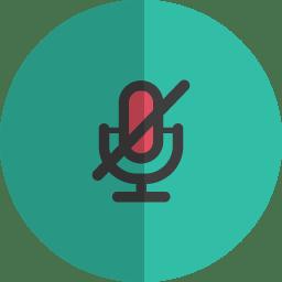 non speaker folded icon