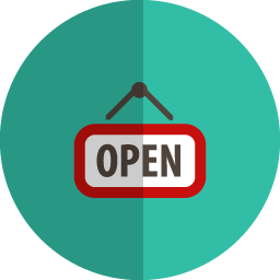 open folded icon