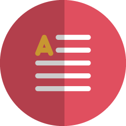 paragraph folded icon