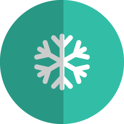 particle folded icon